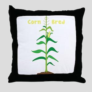 Corn Bred Throw Pillow