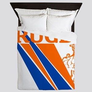 Rugby Line out Queen Duvet