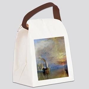William Turner The Fighting Temer Canvas Lunch Bag