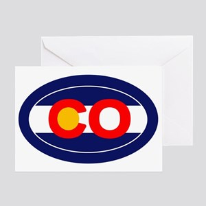 CO - Colorado Greeting Card