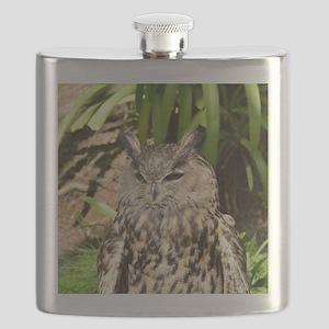 Eurasian Eagle Owl Flask