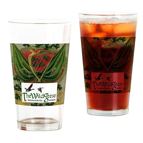 Card Logo 2 Drinking Glass