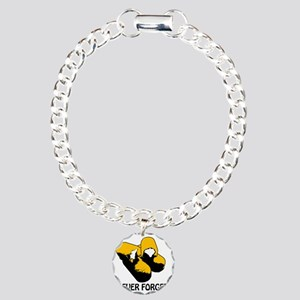 Twinkies Never Forget Tr Charm Bracelet, One Charm