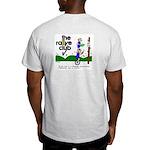 Ash Grey T-Shirt w/ unicycle