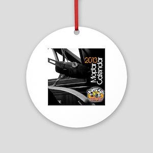 2013calendarmopar cover Round Ornament