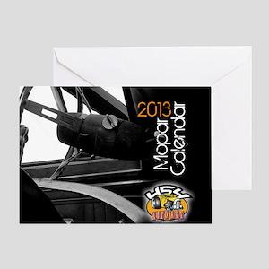 2013calendarmopar cover Greeting Card