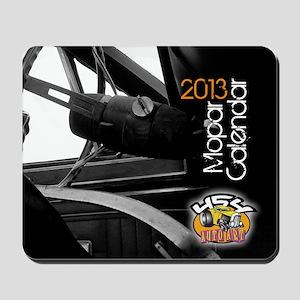 2013calendarmopar cover Mousepad