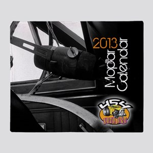 2013calendarmopar cover Throw Blanket