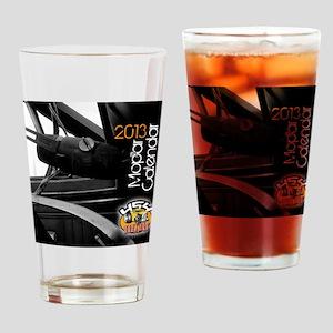 2013calendarmopar cover Drinking Glass