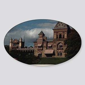 Olana Frederick Church Sticker (Oval)