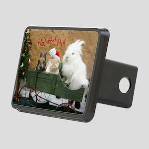 Bunny Trio Christmas Rectangular Hitch Cover