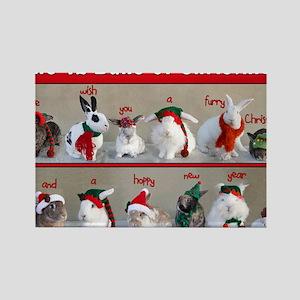 Twelve Buns of Christmas Rectangle Magnet