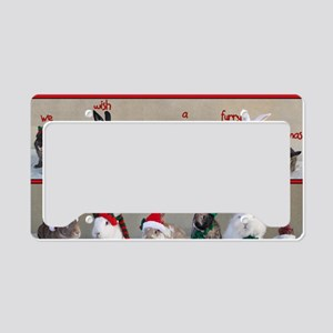 Twelve Buns of Christmas License Plate Holder
