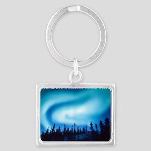 Winter Solstice Cards Landscape Keychain