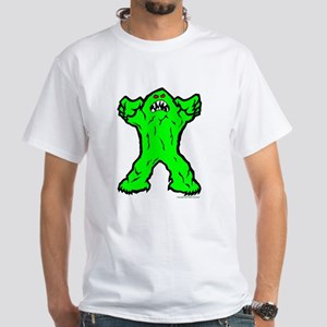 Big Green Ghoul White T-Shirt