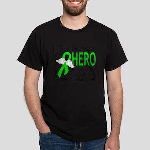 D Lymphoma Bravest Hero I Ever Knew Dark T-Shirt