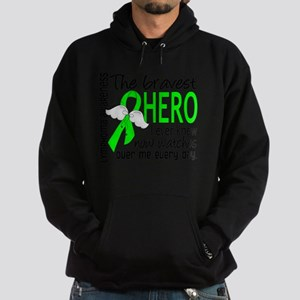 D Lymphoma Bravest Hero I Ever Knew Hoodie (dark)