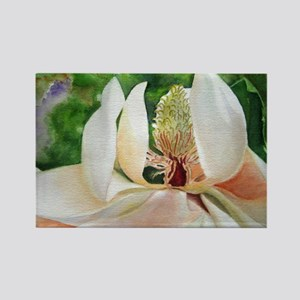 Magnolia Majesty Rectangle Magnet