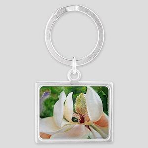 Magnolia Majesty Landscape Keychain