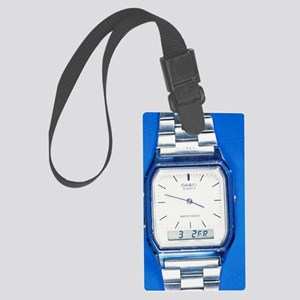 Wristwatch Large Luggage Tag