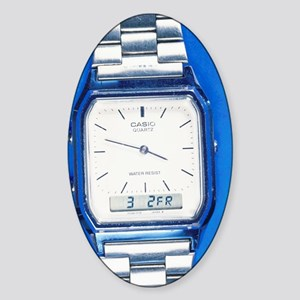 Wristwatch Sticker (Oval)