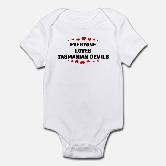Loves: Tasmanian Devils Infant Bodysuit