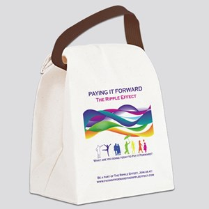 PIFRipple Canvas Lunch Bag