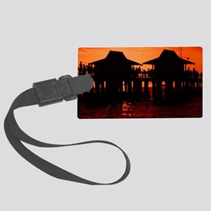 Naples Florida Large Luggage Tag