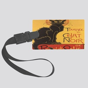 Le Chat Noir Large Luggage Tag