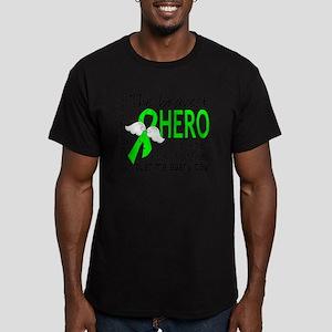 D Non-Hodgkins Lymphom Men's Fitted T-Shirt (dark)