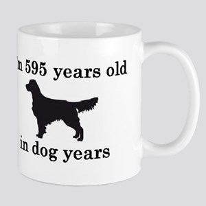 85 birthday dog years golden retriever 2 Mugs