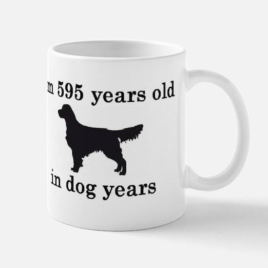 85 birthday dog years golden retriever 2 Mugs