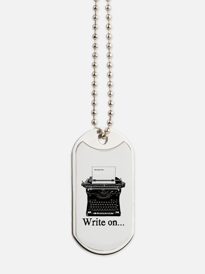 Write on Dog Tags