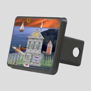 Fishermans Cottage Rectangular Hitch Cover