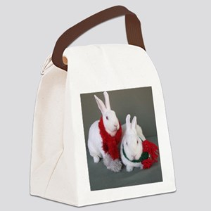 AngelGoodaOrnament Canvas Lunch Bag
