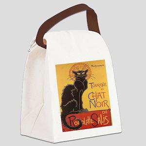 Le Chat Noir Canvas Lunch Bag