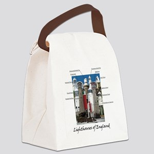 Lighthouses of England Canvas Lunch Bag