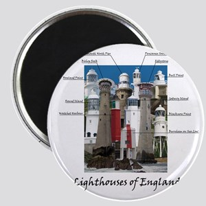 Lighthouses of England Magnet