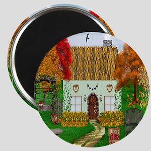 Autumn Cottage Magnet