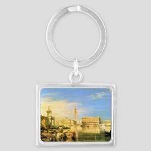 William Turner Venice Landscape Keychain