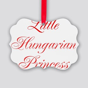 Little Hungarian Princess Picture Ornament