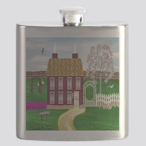 Cherry Tree Cottage Flask