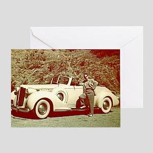 1938 Packard Greeting Card