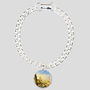 William Turner Venice Charm Bracelet, One Charm