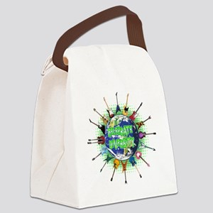 Diversity Canvas Lunch Bag