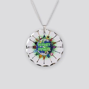 Diversity Necklace Circle Charm