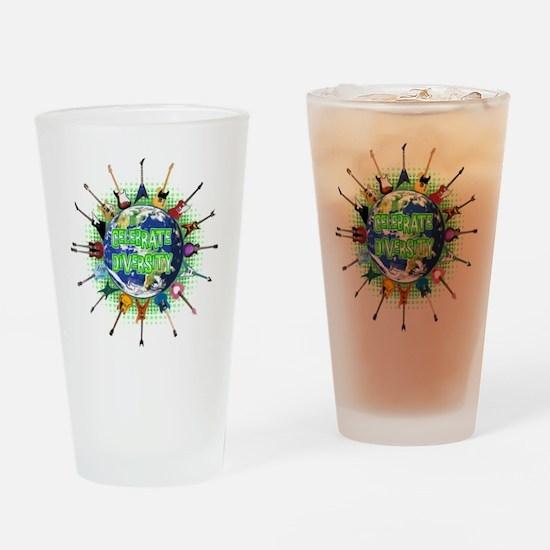 Diversity Drinking Glass