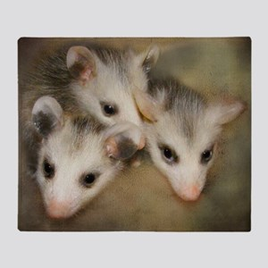 Possum BSnuttles Throw Blanket