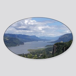 Columbia River gorge Sticker (Oval)