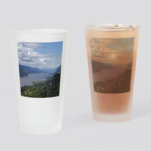 Columbia River gorge Drinking Glass